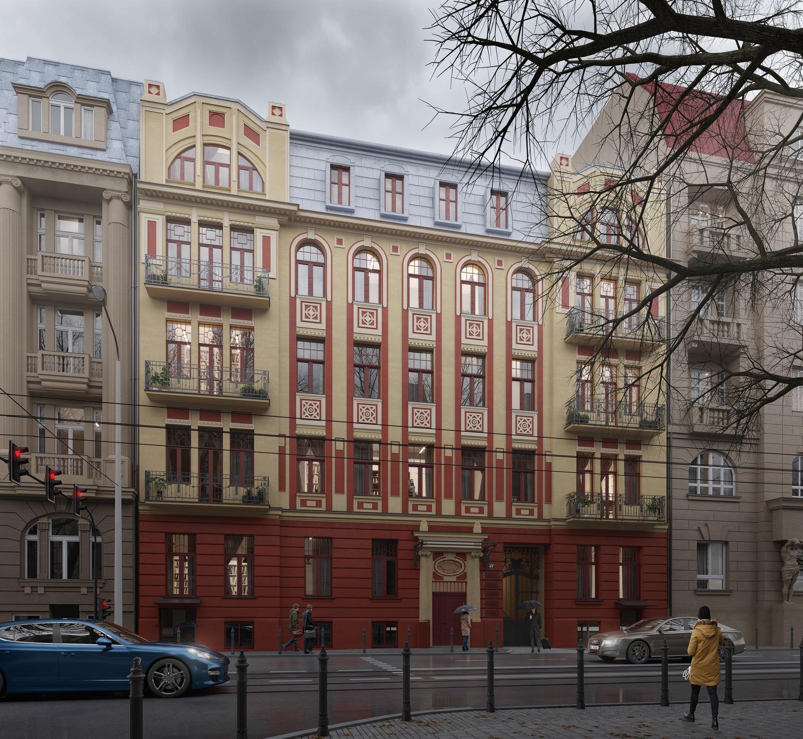 Kamienica przy Operze ul. Narutowicza 47