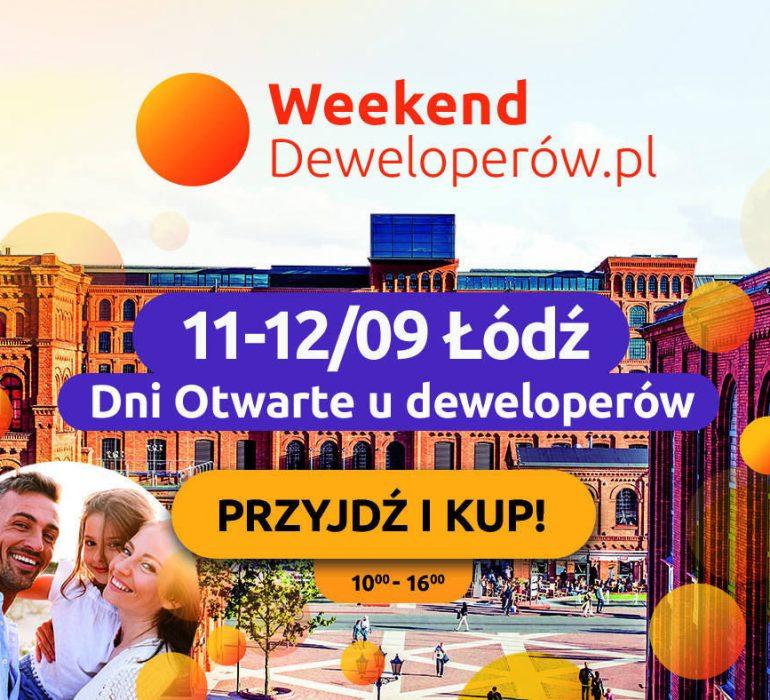 Weekend Deweloperów w Łodzi - 11-12.09.2021
